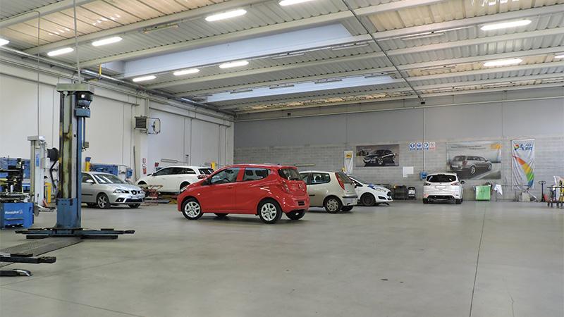 Riparazione e manutenzione flotte auto aziendali